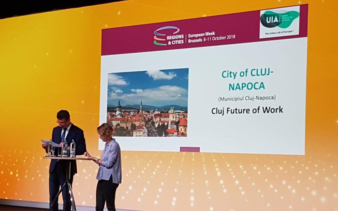 Clujul, primul oraș din Estul Europei finanțat prin Urban Innovative Actions. 5,6 milioane de euro pentru pregătirea orașului pentru locurile de muncă ale viitorului