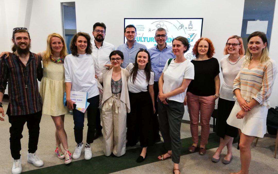 Finaliștii Culturepreneurs 2019