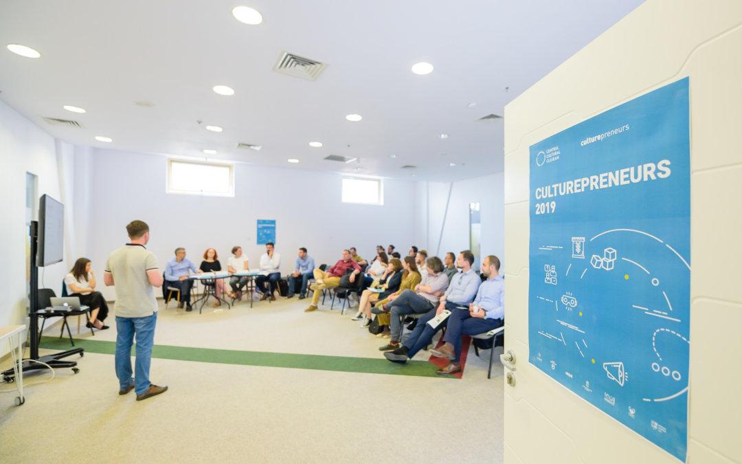 A început faza de incubare pentru finaliștii Culturepreneurs 2019