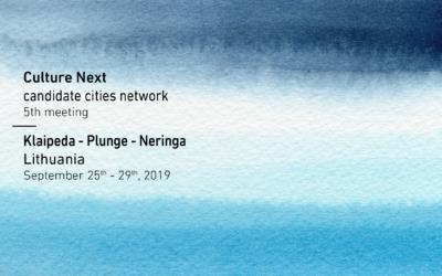 Culture Next. Candidate Cities Network – următoarea întâlnire în Lituania