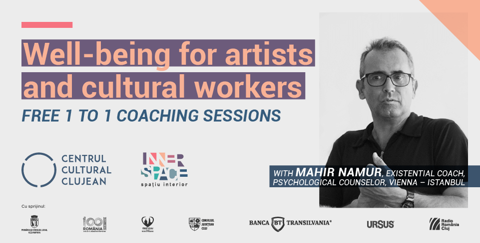 Individual coaching sessions for artists and cultural workers within the framework of Inner Space program