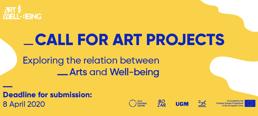 Call for art projects exploring the relation between arts, health and well-being