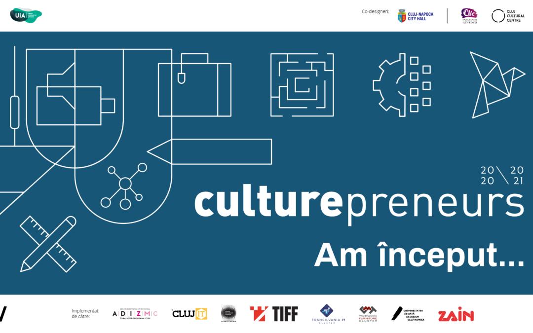 A început programul Culturepreneurs 20/21