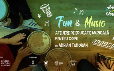 Fun & Music – ateliere de educație muzicală pentru copii