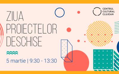 Ziua Proiectelor Deschise și sesiune de informare pentru organizațiile interesate să devină membre ale Centrului Cultural Clujean în anul 2021