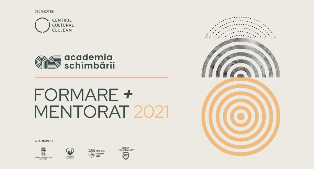 Centrul Cultural Clujean lansează a doua ediție a Programului de formare și mentorat  din cadrul Academiei Schimbării
